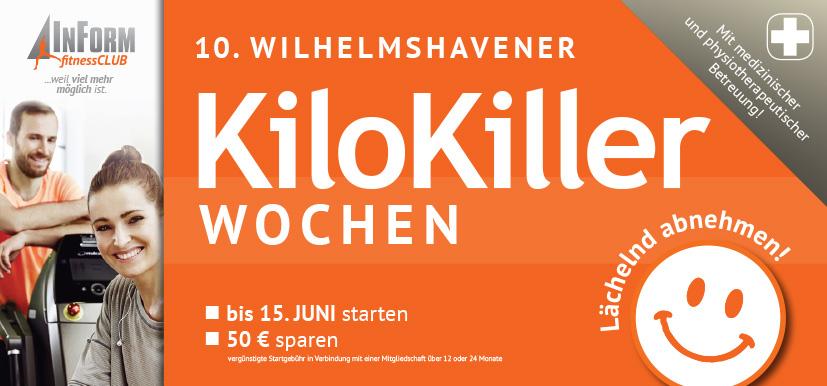 10. Wilhelmshavener KiloKiller-Wochen
