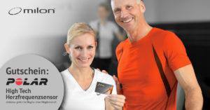 Milon-Wochen: Herzfrequenzsensor inklusive!